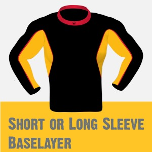 Short or Long sleeve Baselayer