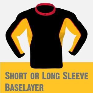 Short or Long sleeve Baselayer