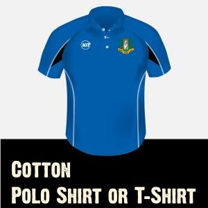 Cotton Polo or Tee