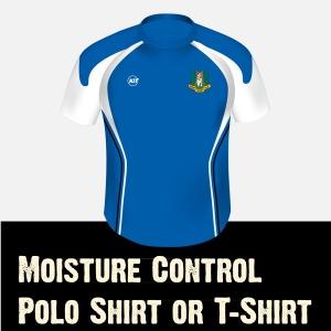 Moisture Control Polo or Tee