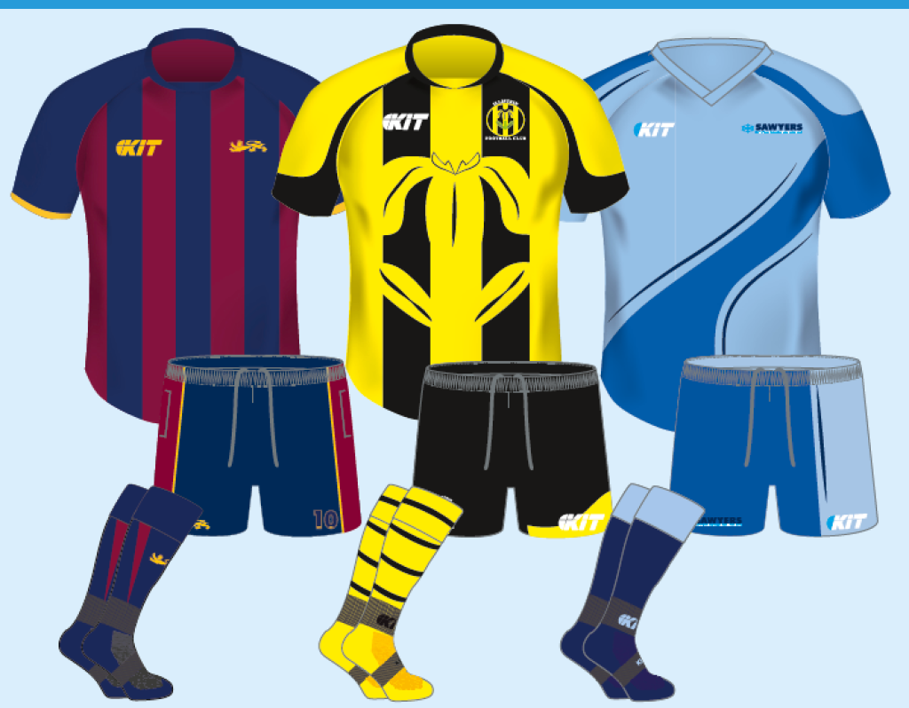Sublimated Kit Pack