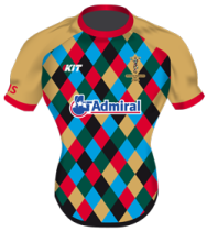 Quins Training Tee Front