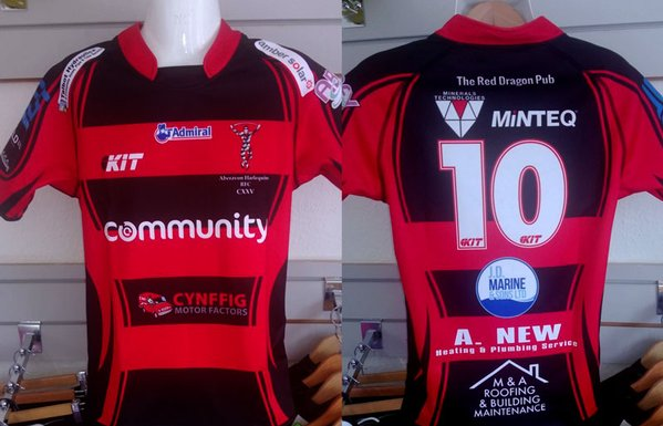 Aberavon Harlequins Red & Black