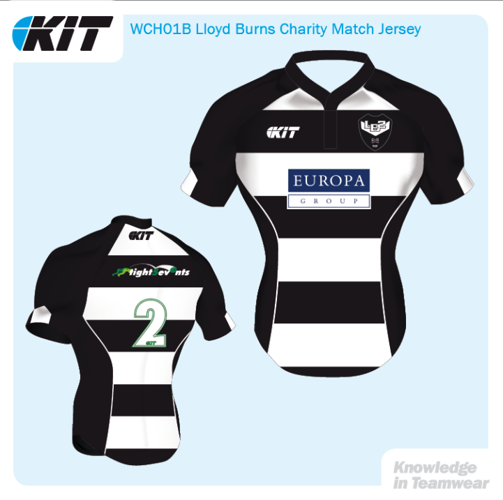 Lloyd Burns Match Jersey